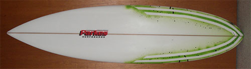 Area Pin Tail Surfboard