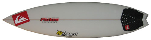 Shortboards: Swallowtail Model